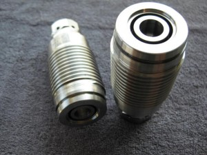 2mm spor, Ø24, senkegnistet 11mm ned, Inconel