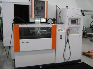 Our newest wire cut EDM machine, AgieCharmilles CUT 300.