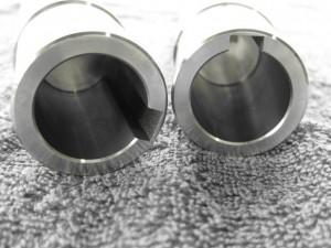 Kilespor utført med senkegnisting.